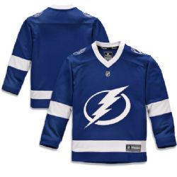 TAMPA BAY LIGHTNING -  BLUE REPLICA JERSEY (YOUTH)