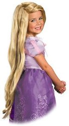 TANGLED -  RAPUNZEL WIG - BLOND (CHILD) -  DISNEY'S PRINCESSES