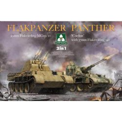 TANK -  FLAKPANZER PANTHER 2-IN-1 - 1/35