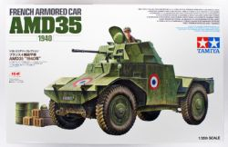 TANK -  FRENCH ARMORED CAR AMD35 (1940) - 1/35 SCALE