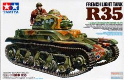 TANK -  FRENCH LIGHT TANK R35 - 1/35 SCALE
