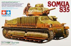 TANK -  FRENCH MEDIUM TANK SOMUA S35 - 1/35 SCALE