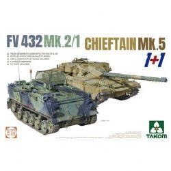 TANK -  FV 432 MK.2/1+CHIEFTAIN MK.5 - 1/72