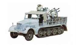 TANK -  GERMAN 8TON SEMITRACK 20MM FLAKVIERLING SD.KFZ 7/1 1/35 (CHALLENGING)