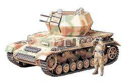 TANK -  GERMAN FLAKPANZER IV WILBERWIND 1/35 (CHALLENGING)