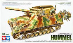TANK -  GERMAN HEAVY SELF-PROPELLED HOWITZER HUMMEL LATE PRODUCTION 1/35