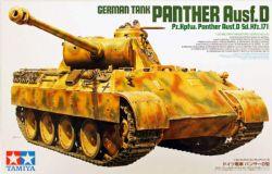 TANK -  GERMAN PANTHER AUSF.D SD.KFZ.171 1/35