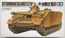 TANK -  GERMAN STURMGESCHÜTZ IV 1/35 (CHALLENGING)