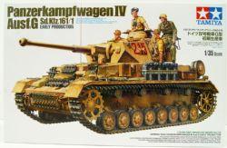 TANK -  GERMAN TANK PANZERKAMPFWAGEN IV AUSF.G (EARLY PRODUCTION) - 1/35 SCALE