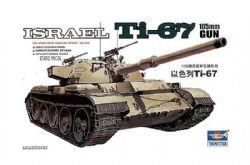 TANK -  ISRAEL TI-67 105MM GUN 1/35 (MODERATE)
