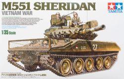 TANK -  M551 SHERIDAN - VIETNAM WAR 1/35 (CHALLENGING)