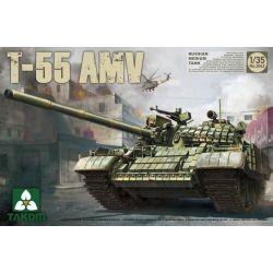 TANK -  RUSSIAN MED TANK T-55 AMV - 1/35