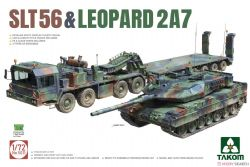 TANK -  SLT56 & LEOPARD2A7 (PLASTIC MODEL) - 1/72