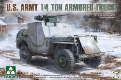 TANK -  U.S. ARMY 1/4 TON ARMORED TRUCK - 1/35