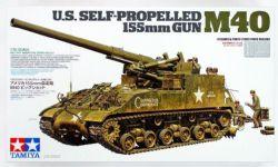 TANK -  US SELF-PROPELLED 155MM GUN M40 1/35