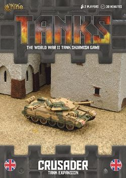 TANKS -  CRUSADER - TANK EXPANSION (ENGLISH)