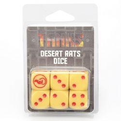 TANKS -  DESERT RATS DICE