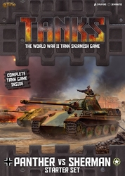 TANKS -  PANTHER VS SHERMAN - STARTER SET (ENGLISH)