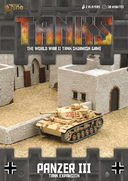 TANKS -  PANZER III - TANK EXPANSION (ENGLISH)