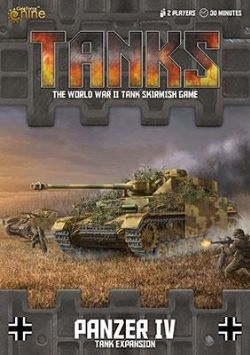 TANKS -  PANZER IV - TANK EXPANSION (ENGLISH)