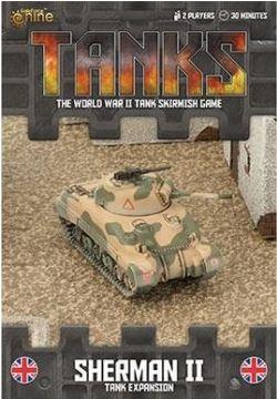 TANKS -  SHERMAN II - TANK EXPANSION (ENGLISH)