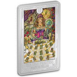 TAROT CARDS -  THE HIGH PRIESTESS -  2021 NEW ZEALAND MINT COINS 03
