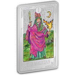 TAROT CARDS -  THE MAGICIAN -  2021 NEW ZEALAND MINT COINS 02