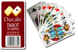 TAROT GAME -  DUCALE WITH PLASTIC BOX