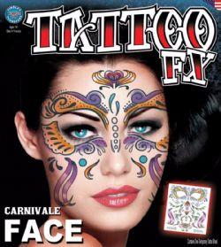 TATTOO FX -  CARNIVALE FACE