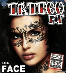 TATTOO FX -  LACE FACE