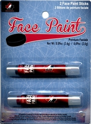 TEAM CANADA -  2 STICKS FACE PAINT - RED/BLACK