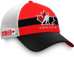 TEAM CANADA -  CAP - RED/BLACK/WHITE - ADJUSTABLE
