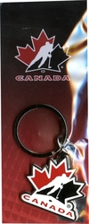 TEAM CANADA -  LOGO KEYCHAIN