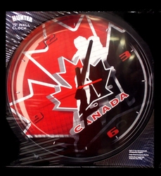 TEAM CANADA -  WALL CLOCK (15 1/2