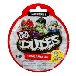 TECH DECK DUDES -  1-PACK - INCLUDES 1 SECRET DUDE SÉRIE #1
