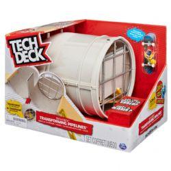 TECH DECK -  TRANSFORMING PIPELINES - MODULAR SKATEPARK + BOARD
