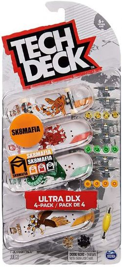TECH DECK -  ULTRA DLX - 4-PACK (SK8MAFIA)