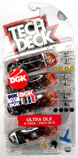 TECH DECK -  ULTRA DLX - 4-PACK (ULTRA DLX)