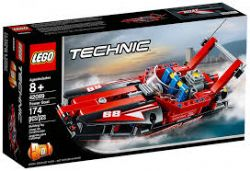 TECHNIC -  POWER BOAT - 2 IN 1 (174 PIECES) 42089