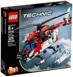 TECHNIC -  RESCUE HELICOPTER - 2 IN 1 (325 PIECES) 42092