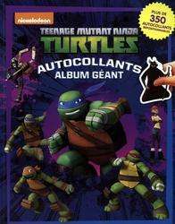 TEENAGE MUTANT NINJA TURTLES -  AUTOCOLLANTS - ALBUM GÉANT -  TEENAGE MUTANT NINJA TURTLES