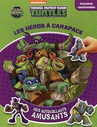 TEENAGE MUTANT NINJA TURTLES -  LES HÉROS À CARAPACE - MES AUTOCOLLANTS AMUSANTS