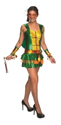 TEENAGE MUTANT NINJA TURTLES -  MICHELANGELO COSTUME (ADULT)