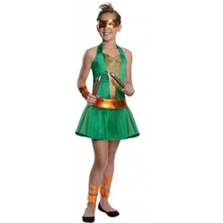 TEENAGE MUTANT NINJA TURTLES -  MICHELANGELO COSTUME (TEEN)