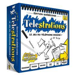 TELESTRATIONS -  ÉDITION QUÉBÉCOISE (FRENCH)
