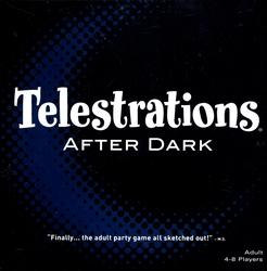 TELESTRATIONS -  AFTER DARK (ENGLISH)