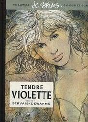 TENDRE VIOLETTE -  INTEGRALE - NOIR ET BLANC 01