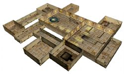 TENFOLD DUNGEON FANTASY SETTING -  THE TEMPLE