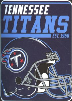 TENNESSEE TITANS -  SUPER SOFT THROW (46