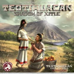 TEOTIHUACAN -  SHADOW OF XITLE (ENGLISH)